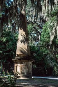 Cemetery Statuary Statue Bonaventure Cemetery Savannah Georgia Stock Photo