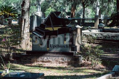 Upchurch Cemetery Statuary Statue Bonaventure Cemetery Savannah Georgia Stock Photo