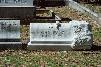 John Walz Cemetery Statuary Statue Bonaventure Cemetery Savannah Georgia Stock Photo
